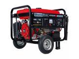 Durostar DS5500EH Portable Generator, Red/Black