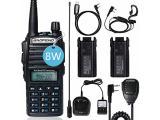 BaoFeng UV-82 BaoFeng Radio Ham Radio 2 Way Radio with Extra 2800mAh Battery Full Kits(1 Pack-Black)