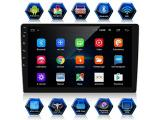 ANKEWAY New 10.1 Inch Android 9.1 Car Stereo with HiFi+WiFi+GPS+RDS+FM+Bluetooth