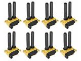 ENA 8 Pack Heavy Duty Ignition Coil Compatible with Chrysler 300