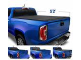 Tyger Auto T1 Soft Roll Up Truck Bed Tonneau Cover.