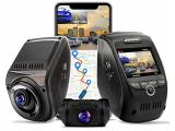 REXING V1P MAX 4K UHD Dual Channel Dash CAM, 3840X2160 Front+1080p Rear