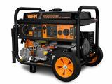 WEN DF1100 11,000-Watt 120V/240V Dual Fuel Portable Generator with Wheel Kit and Electric Start