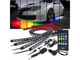 Xprite Car Underglow Neon Accent Strip Lights Kit