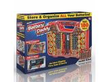 Ontel Battery Daddy 180 Battery Organizer and Storage Case with Tester