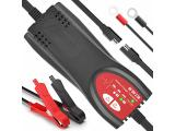 Ampeak Car Battery Charger: 6V/12V 2.5A Automatic Trickle Charger Maintainer