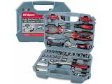 Hi-Spec 67 Piece Auto Mechanics Tool Kit Set with SAE Sockets