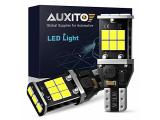 AUXITO 912 921 LED Backup Light Bulbs High Power 2835 15-SMD Chipsets Error Free