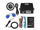 EASYGUARD EC004 Smart RFID Car Alarm System Push Engine Start Button & Keyless