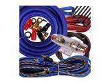 Gravity Complete 2600W 4 Gauge Amp Kit Amplifier Install Flexible Wiring