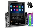 Android Vertical Double Din Car Radio with GPS Navigation