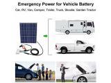 ECO-WORTHY 25 Watts 12V Off Grid Solar Panel SAE Connector Kit Photo 5