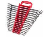 Max Torque 15-Piece Premium Combination Wrench Set, Chrome Vanadium Steel