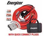 Energizer Jumper Cables, 30 feet, 1 Gauge, 800A