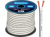 InstallGear 14 Gauge AWG 100ft Speaker Wire Cable