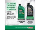 Castrol 03100 GTX High Mileage 5W-20 Motor Oil Photo 3