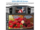 Double Din Car Stereo Compatible with Voice Control Apple Carplay Photo 2