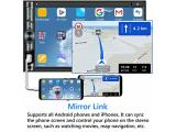 Double Din Car Stereo Compatible with Voice Control Apple Carplay Photo 5