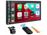 Double Din Car Stereo Compatible with Voice Control Apple Carplay