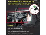 FAERSI HVAC Blower Motor Resistor Kit with Harness Photo 2