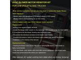 FAERSI HVAC Blower Motor Resistor Kit with Harness Photo 3