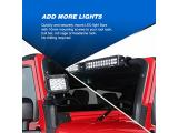 Nilight 90023B 2-Pack (Standard) Mounting Bracket Kit Photo 4